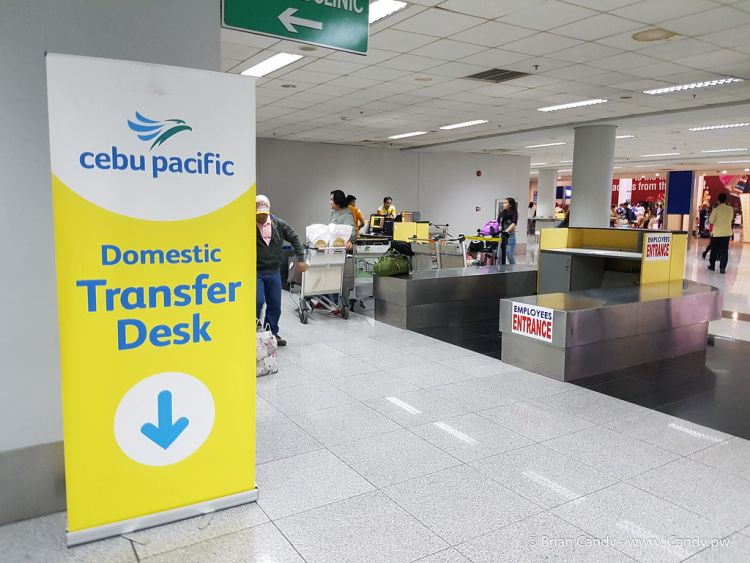 Cebu Pacific Terminal transfer