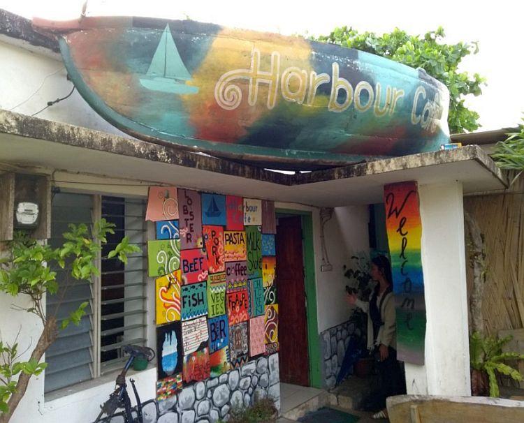 Harbour Cafe in Basco, Batanes