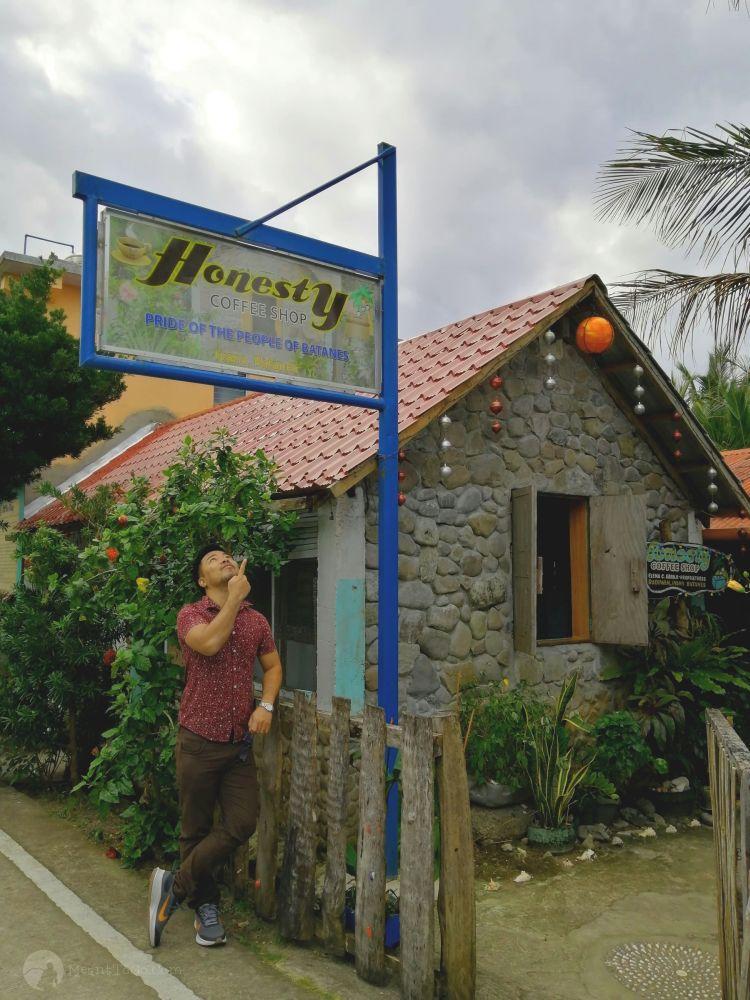 Honesty Coffee Shop in Ivana, Batanes