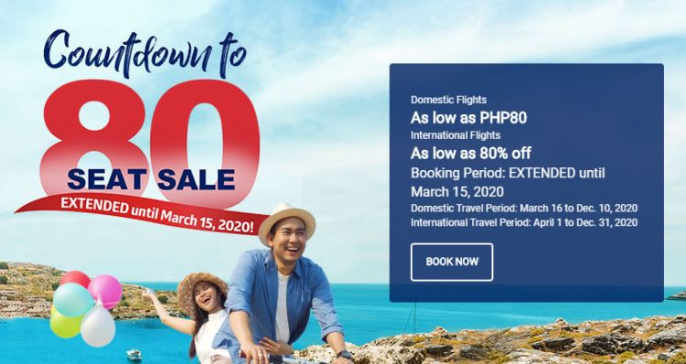 Philippine Airlines giving seat sale