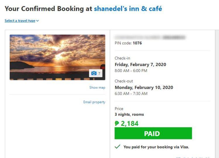 Shanedel's Inn and Cafe in Basco, Batanes