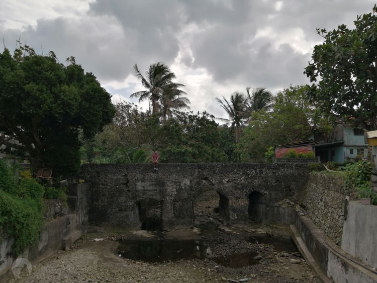 Old Spanish bridge in Ivana, Batanes