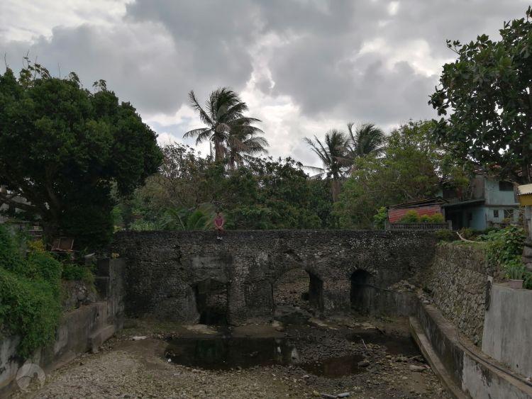 Old Spanish bridge in Ivana, Batanes