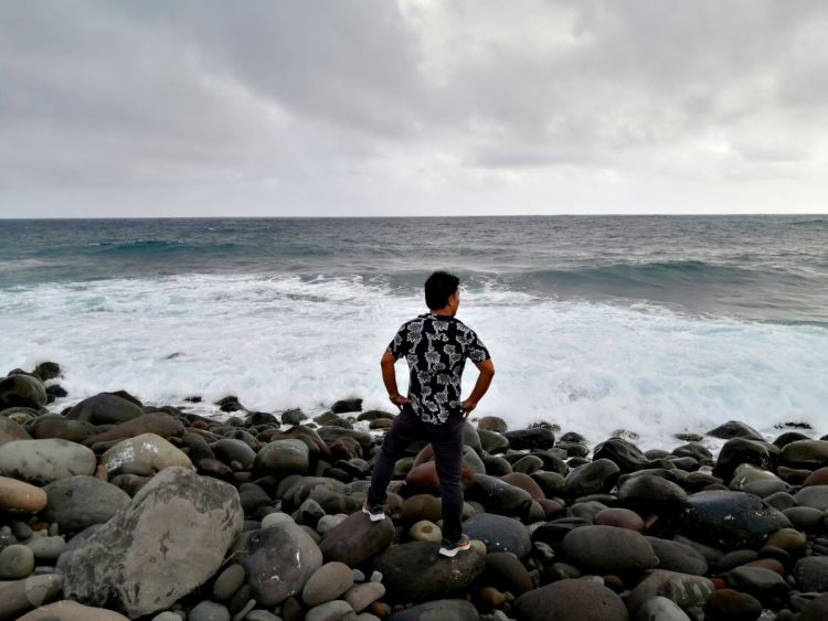 Valugan Boulder Beach in Batanes