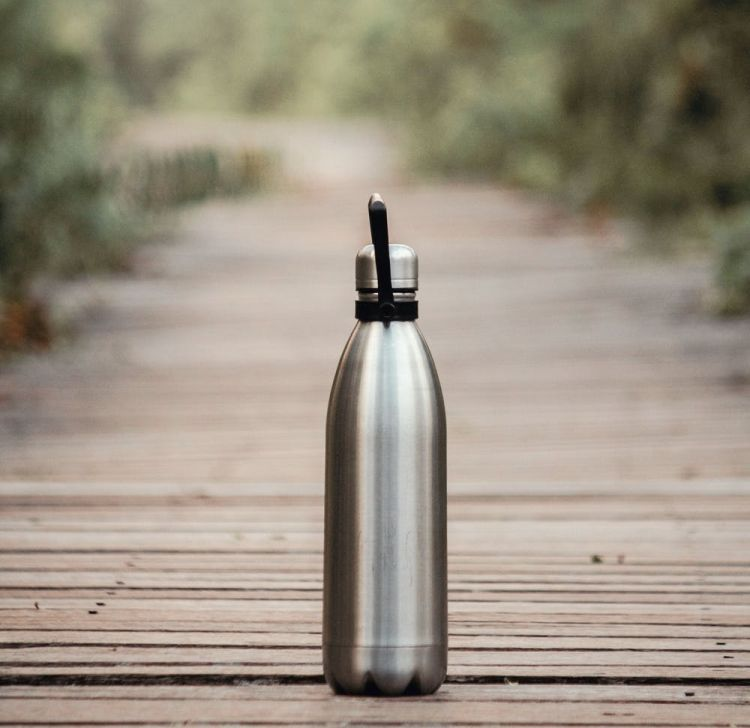 Water tumbler for travel
