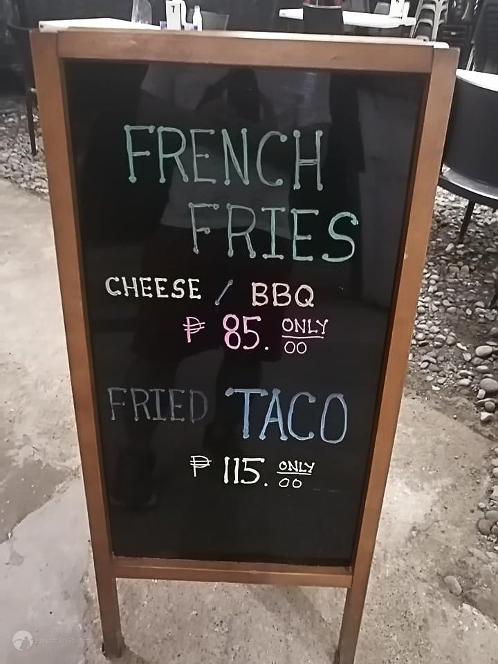 495 Kitchen Menu - Davao