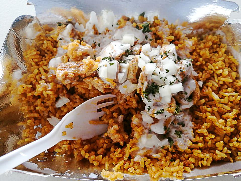 chicken kebab rice