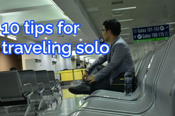 Tips for traveling solo by meanttogo.com